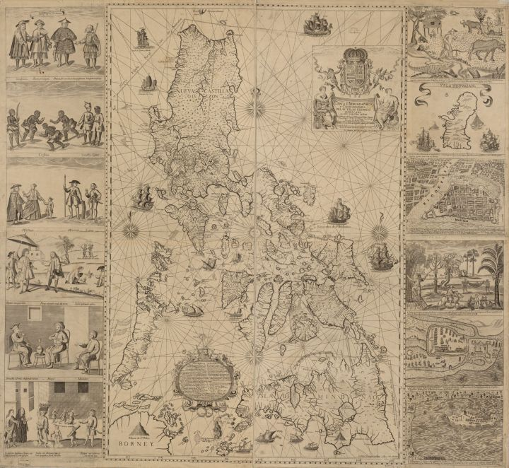 Murillo Velarde map of the Philippines