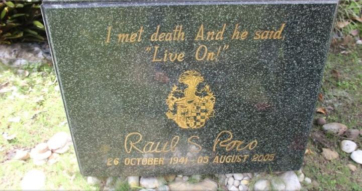 Roco tombstone